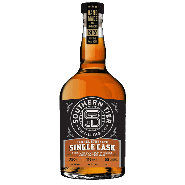 Barrel Strength Single Cask Straight Bourbon Whiskey
